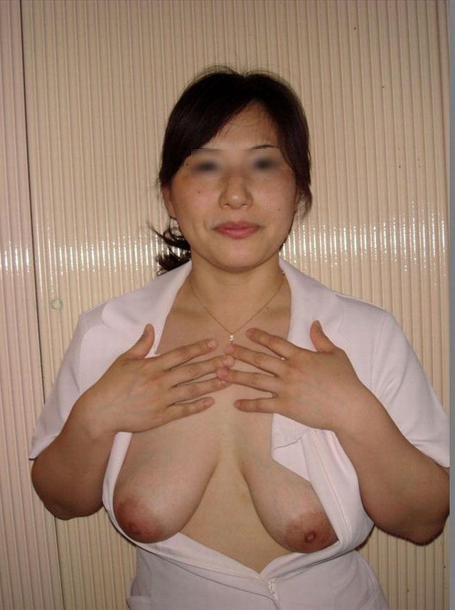 垂れ乳ヌード 垂れ乳 デカ乳輪 熟女 おっぱい エロ画像【38】