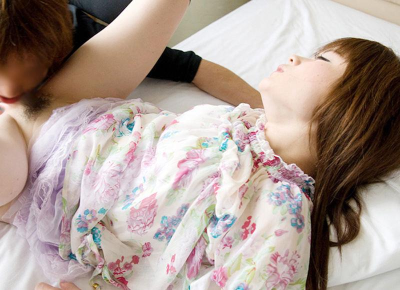 着衣 クンニ まんこ 舐め エロ画像【29】