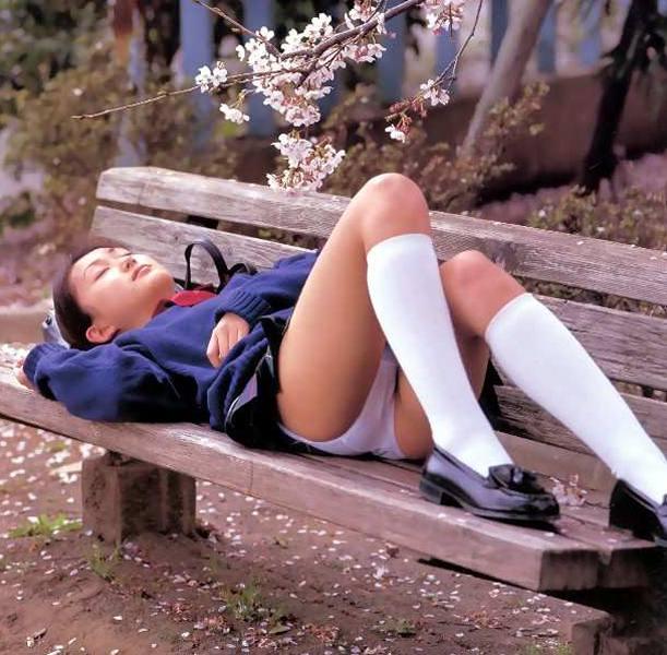 昭和 70年代 80年代 昔 JK パンチラ エロ画像【7】
