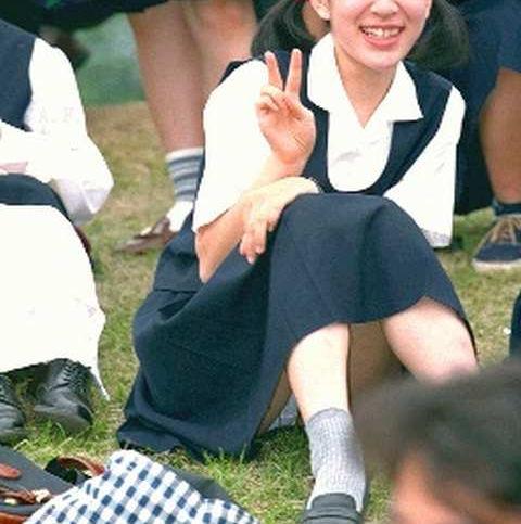 昭和 70年代 80年代 昔 JK パンチラ エロ画像【13】