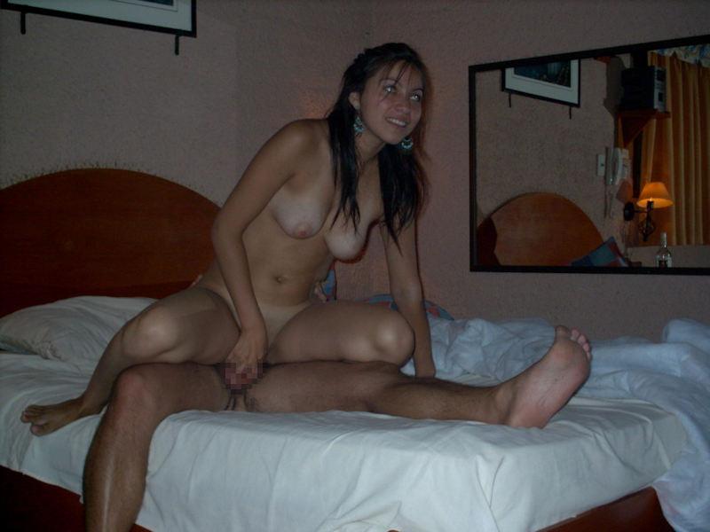 騎乗位 外国人 ハメ撮り セックス エロ画像【13】