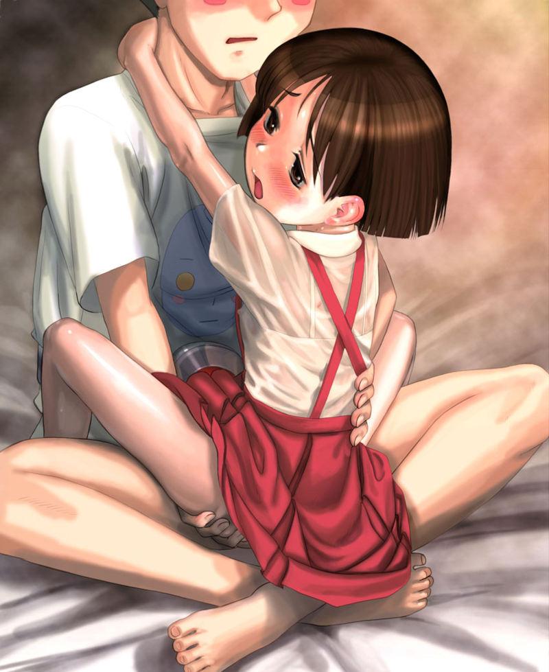 小さい女の子 ロリ セックス 二次元 エロ画像【64】
