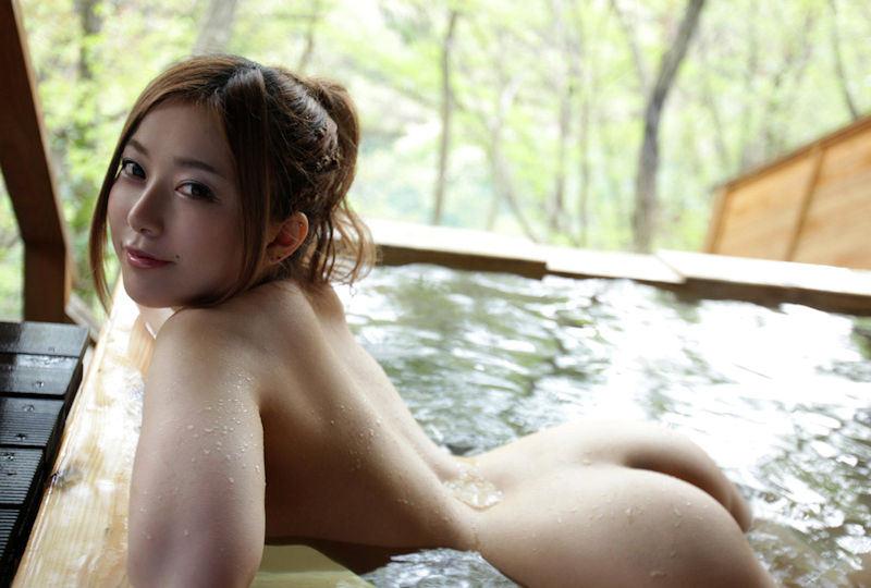 露天風呂 露出 エロ画像【47】