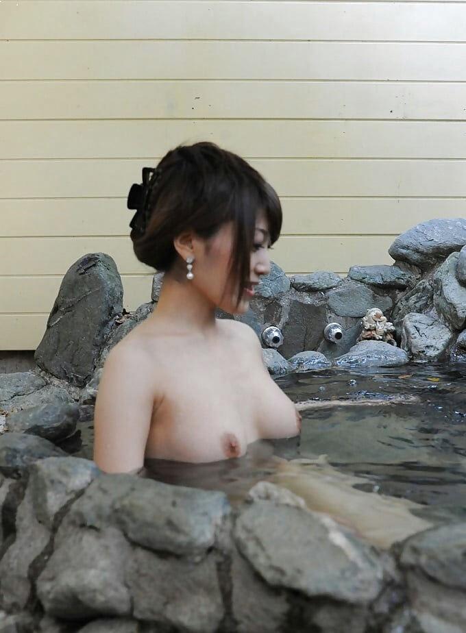露天風呂 露出 エロ画像【95】