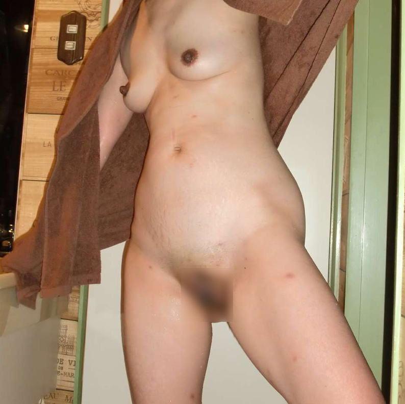 風呂上がり 人妻 熟女 エロ画像【15】