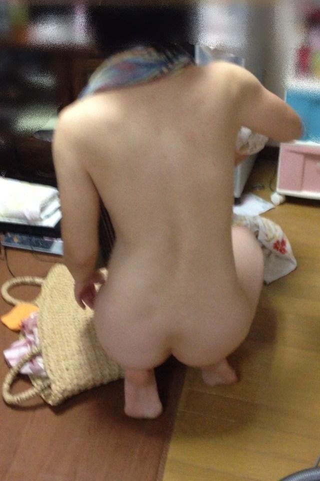 風呂上がり 人妻 熟女 エロ画像【19】