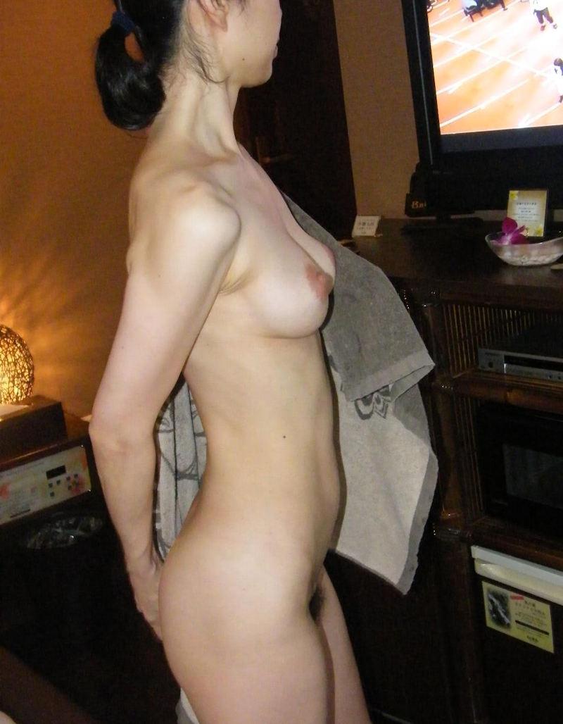 風呂上がり 人妻 熟女 エロ画像【35】