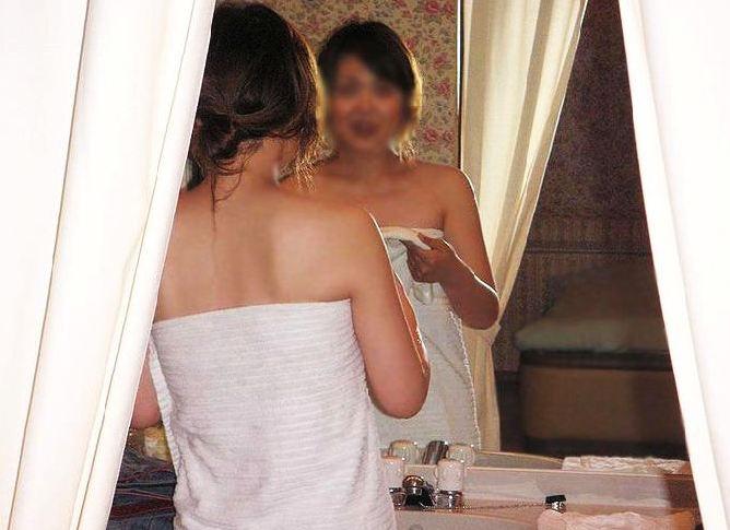 風呂上がり 人妻 熟女 エロ画像【70】