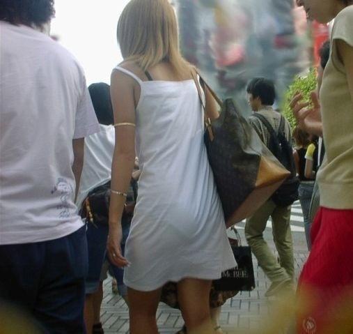 パンツ 透けパン エロ画像【15】