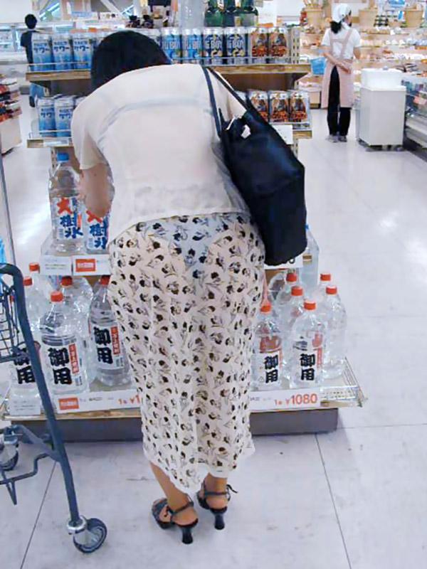 パンツ 透けパン エロ画像【46】
