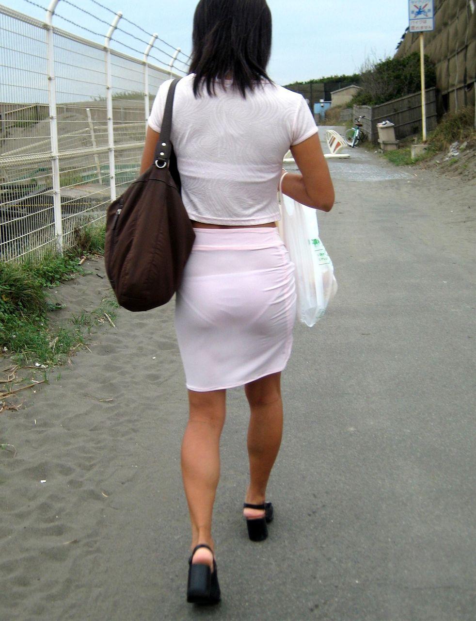 パンツ 透けパン エロ画像【63】
