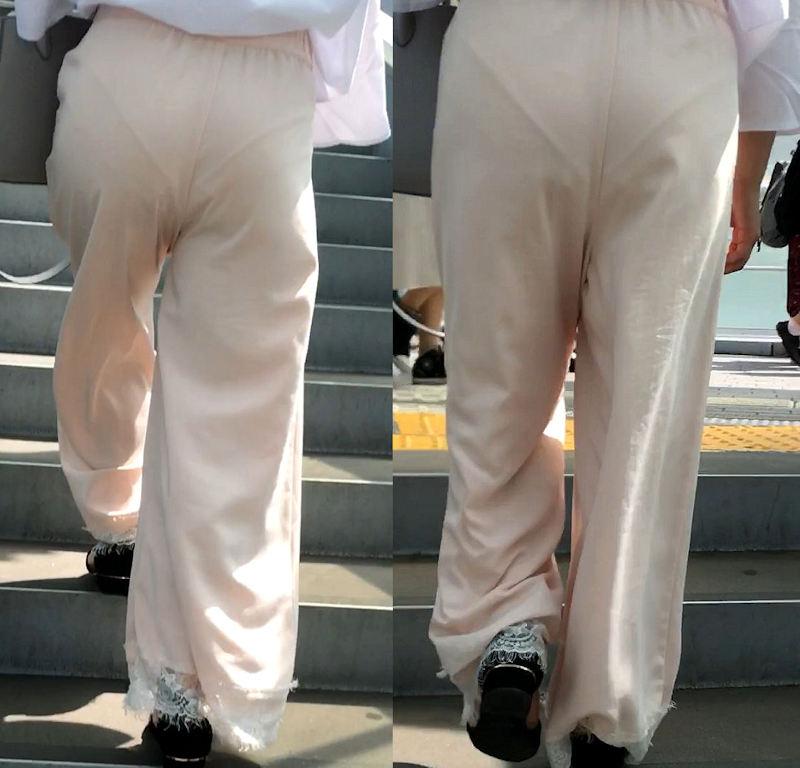 パンツ 透けパン エロ画像【95】