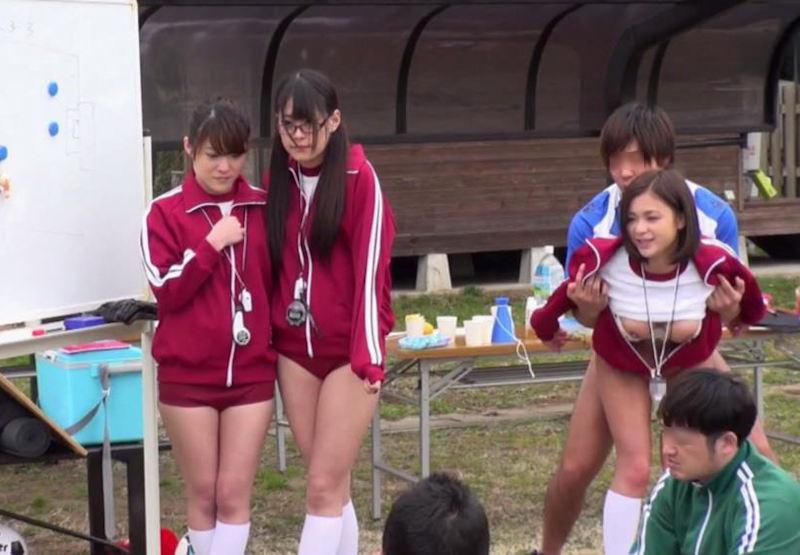 運動部 マネージャー 部活 女子マネ エロ画像【20】