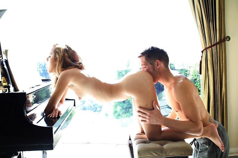 外国人 クンニ まんこ 舐め エロ画像【43】
