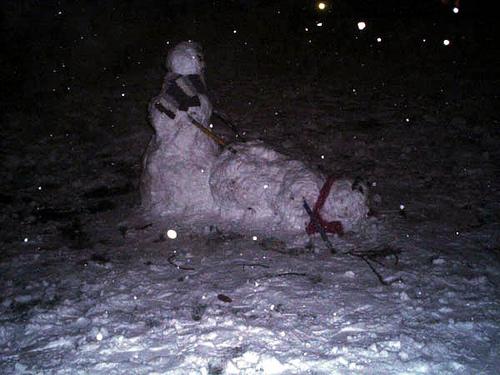 雪だるま エッチ おふざけ 海外 エロ画像【21】