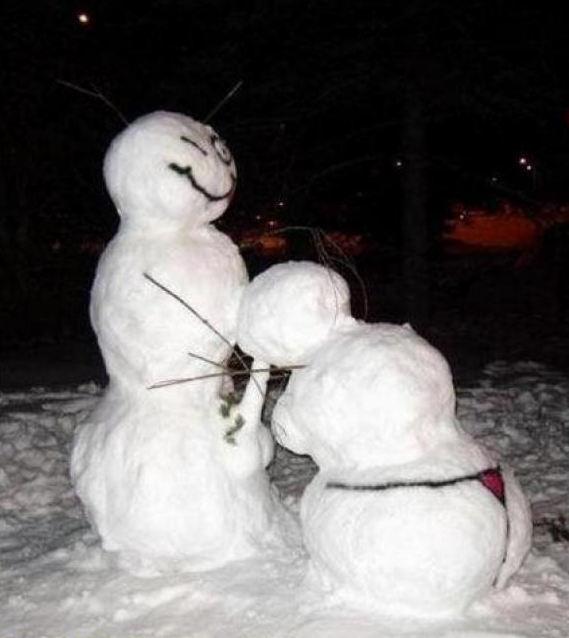 雪だるま エッチ おふざけ 海外 エロ画像【23】