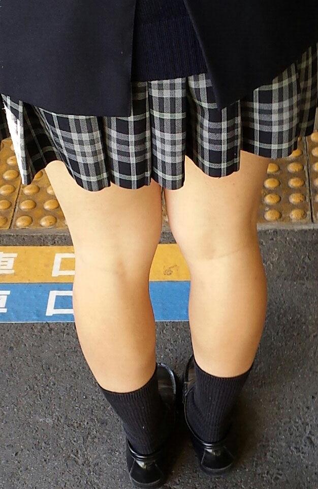 膝裏 もも裏 フェチ エロ画像【42】
