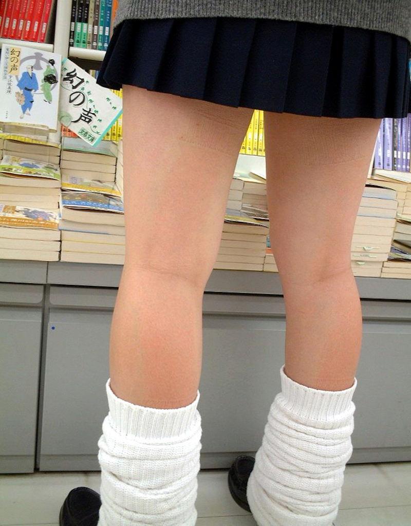 膝裏 もも裏 フェチ エロ画像【60】