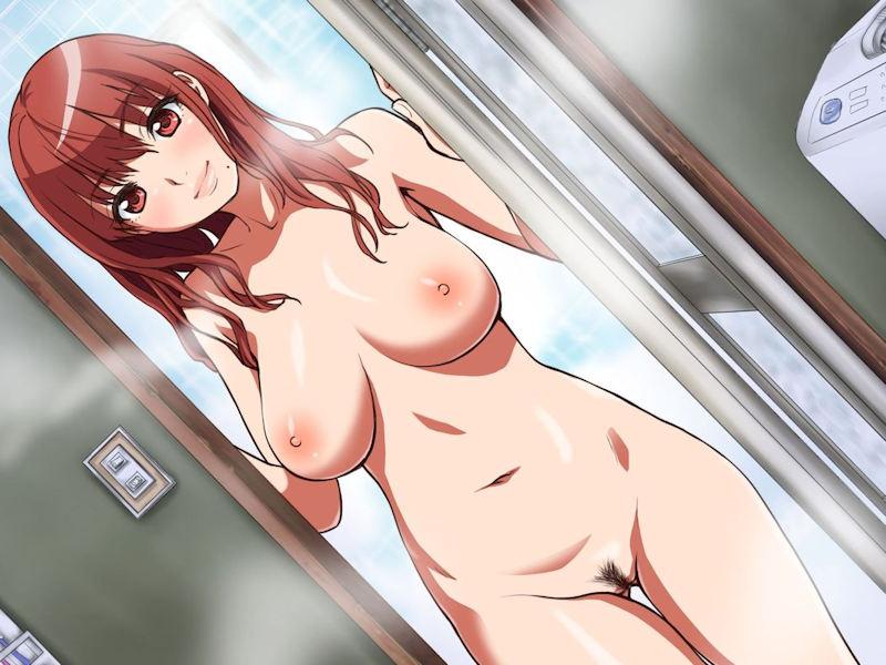 全裸な女の子に陰毛がある二次元ヘアヌード画像 表紙