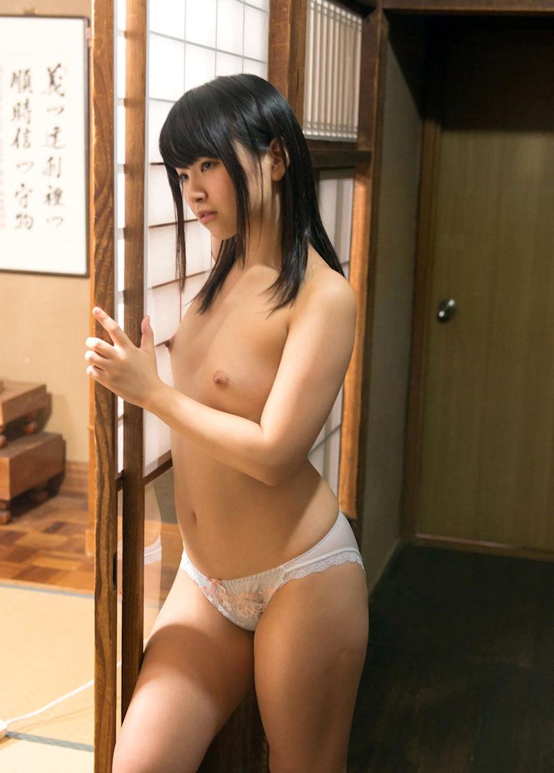 寸胴 童顔 貧乳 幼児体型 美女 エロ画像【39】