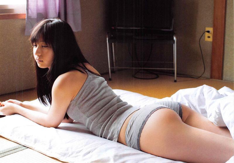 地味 可愛い グレー 下着 美女 エロ画像【26】