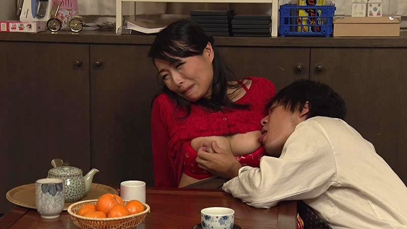 こたつ 熟女 冬 おばさん エロ画像【12】