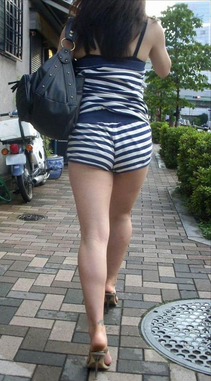 お尻 ホットパンツ エロ画像【81】