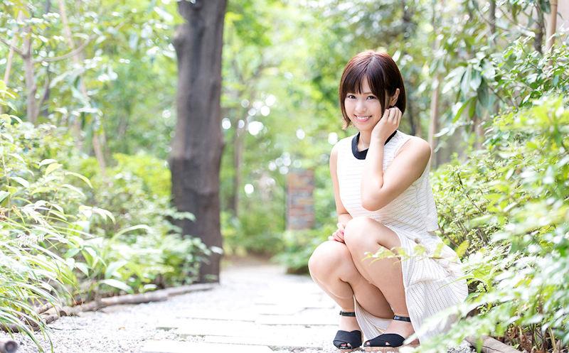 公園 デート パンチラ 美女 エロ画像【47】