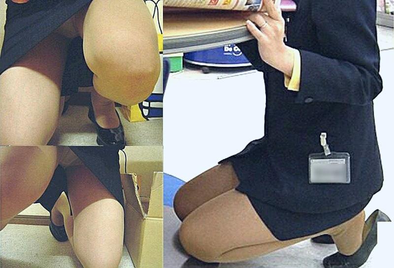 働く女性 パンチラ エロ画像【57】