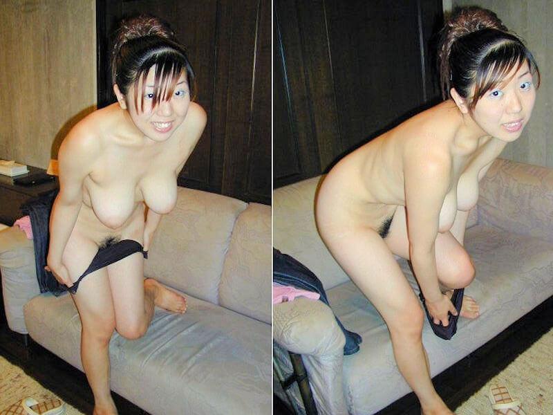 着衣脱ぎかけ熟女のエ□画像