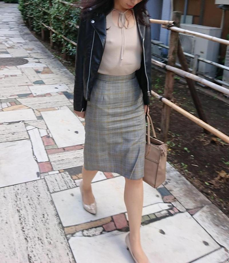 熟女 街撮り エロ画像ミルナビ