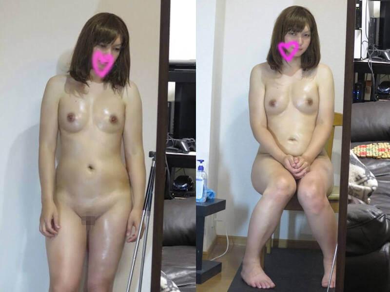 全裸 オイル ヌード エロ画像